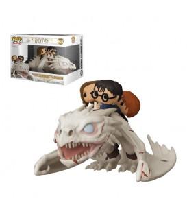 Funko POP - Harry Potter - Ride Harry, Ron y Hermione dragón gringotts
