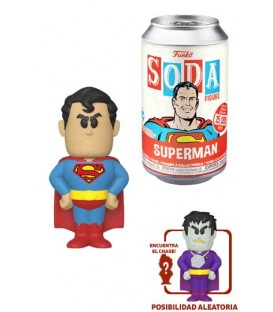 Funko Soda-  DC Comics -  Superman w/ chase