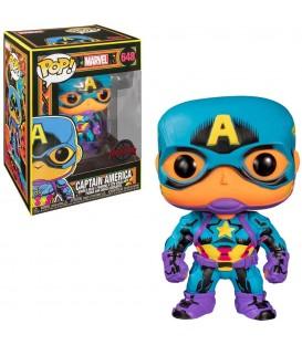 Funko POP - Marvel - Capitan america exclusive black light
