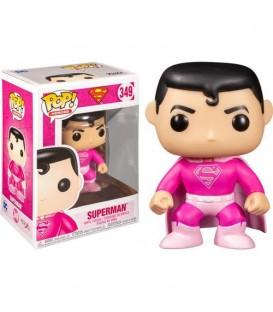 Funko POP - DC -Superman (Edición cáncer mama)