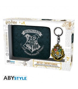 "HARRY POTTER - Pack cartera + Llavero ""Hogwarts"""