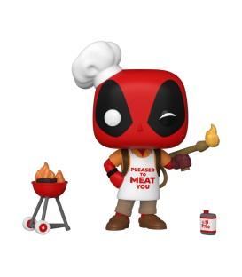 RESERVA - Funko POP Marvel: Deadpool 30th -Backyard Griller Deadpool