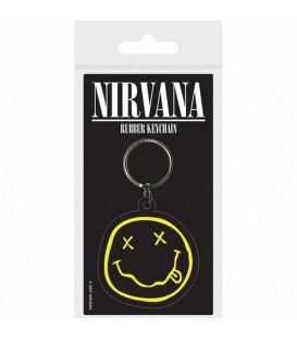Llavero Nirvana rubber