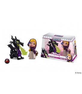 Disney Pack de 2 Metalfigs Figuras Diecast Maleficent & Briar Rose 10 cm