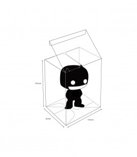 Funko POP Protector Transparente funko pop regular