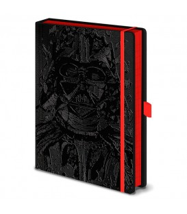 Cuaderno A5 premium de Star Wars Darth Vader