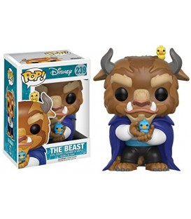 Funko Pop - Disney- Beauty & the Beast: Winter Beast la bella y la bestia