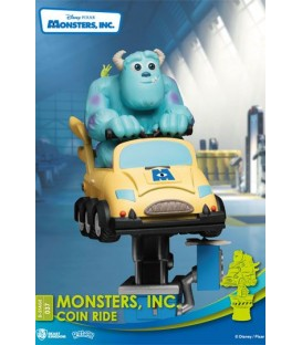 Disney Coin Ride  Diorama PVC D-Stage Monsters Inc.