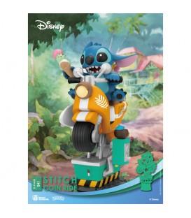 Figura Diorama Stitch Moto D-Stage Disney 16 cm