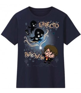 Camiseta Infantil Harry potter expecto patronus