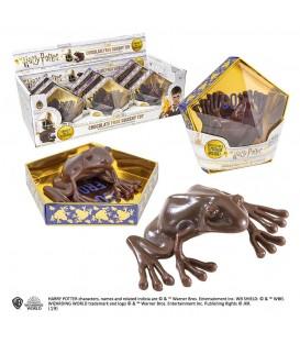 Harry Potter réplica Figura Antiestrés Rana de chocolate Noble Collection