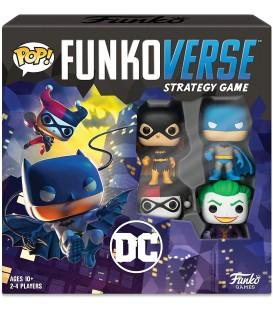 Funkoverse Juego de mesa DC superhéroes Castellano