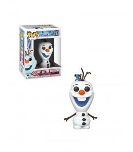 Funko POP - Frozen 2 - Olaf con Bruni