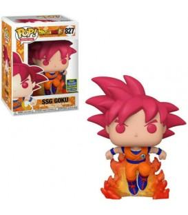 Funko Pop!Dragon Ball Super-SSG GOKU- Summer Convention 2020 sdcc 827