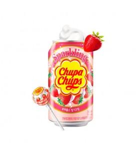 Refresco coreano Chupa-Chups Nata y Fresa