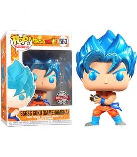 Funko POP - Dragon Ball - SSG Goku Kamehameha MT exclusivo