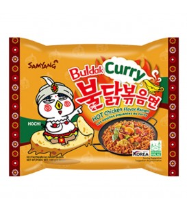 Ramen Hot chicken flavor curry