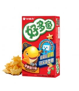 Snack coreano peces sabor tomate