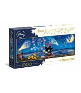 Puzzle Mickey y Minnie Disney panoramico 1000pc