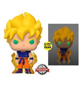 Funko POP - Dragon Ball - Super Saiyan Goku exclusive glow