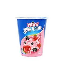 Mini galletas sabor a fresa