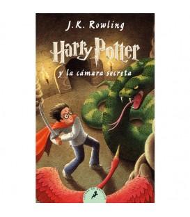 Libro Harry Potter y la camara secreta HP2 bolsillo