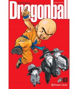 DRAGON BALL ULTIMATE Nº 03/34 AKIRA TORIYAMA