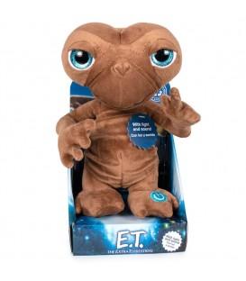 """Peluche E.T. El Extraterrestre luz y sonido 25cm """"Castellano"""""""