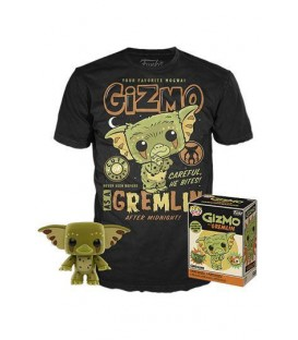 Camiseta + Funko exclusivo Gremlins gizmo