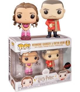 Funko pop pack exclusivo Hermione y Victor Krum